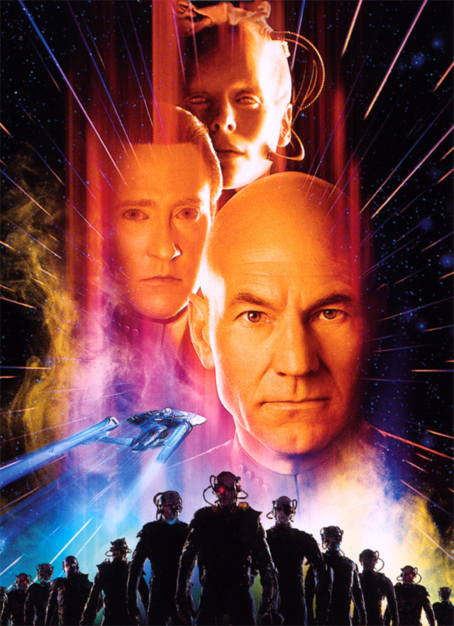Star Trek VIII First Contact poster star trek movies 8475673 640 881