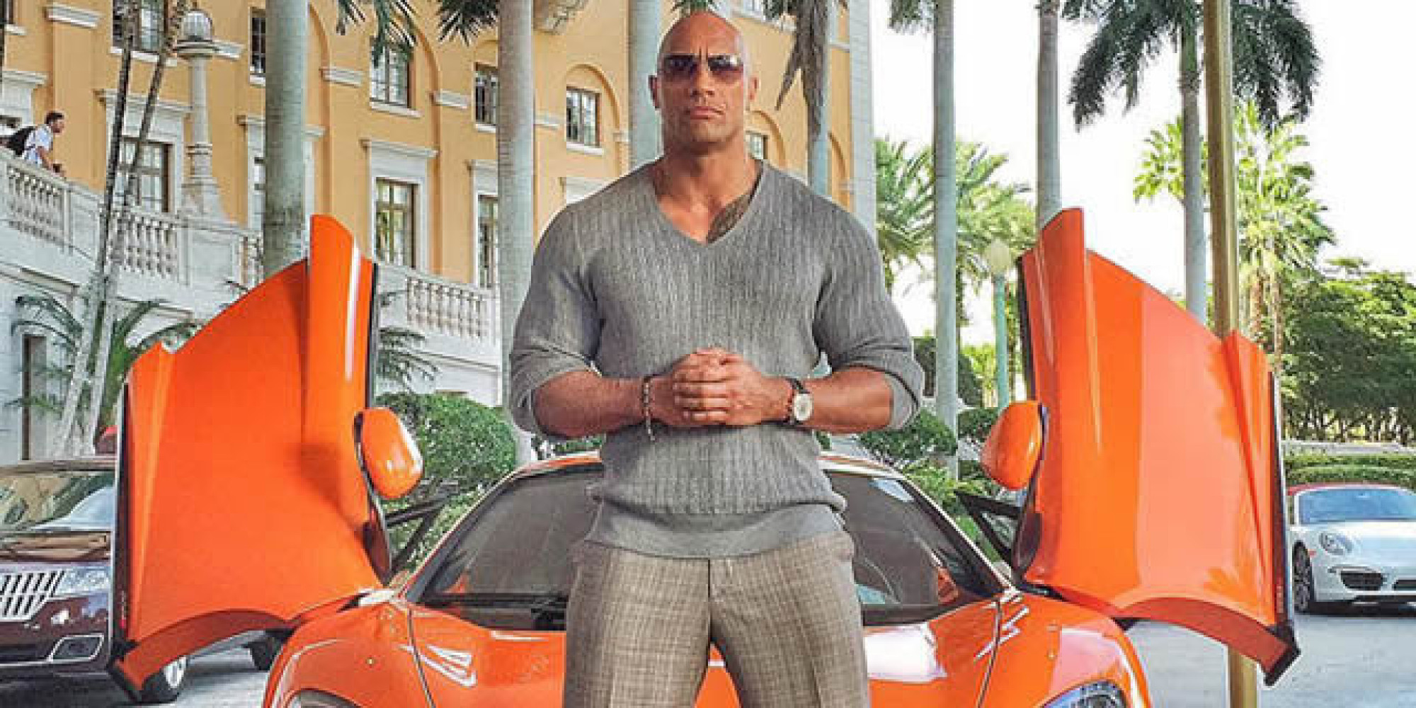 o DWAYNE JOHNSON HBO BALLERS facebook