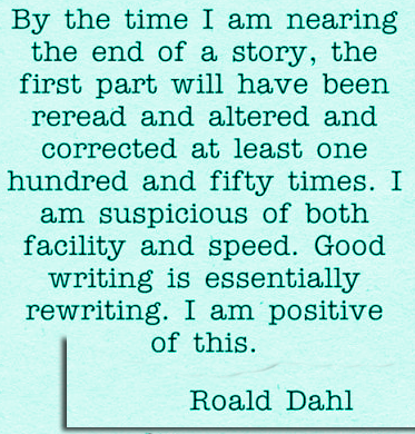 rewriting dahl
